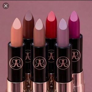 NEW (6) piece Anastasia Beverly Hills lipstick set
